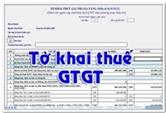 Mẫu tờ khai thuế giá trị gia tăng - Mẫu số: 01/GTGT